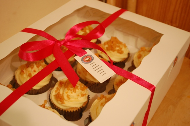 Honey Trap cupcakes