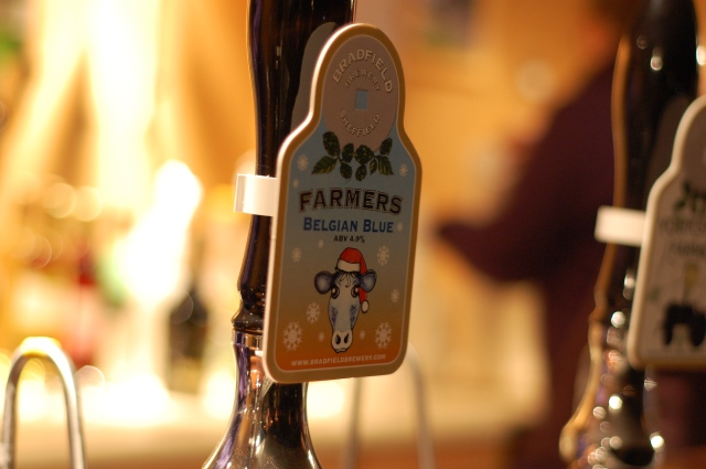 Bradfield Brewery Farmers Belgian Blue