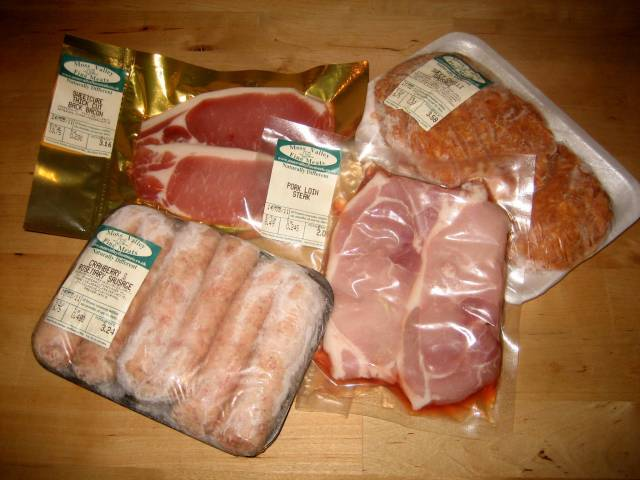 My pork haul