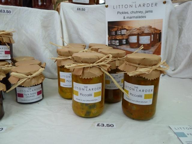 Litton Larder pickles