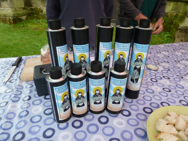 Saint Basil Olive Grove oil