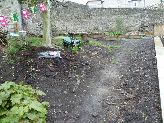 Tideswell community garden