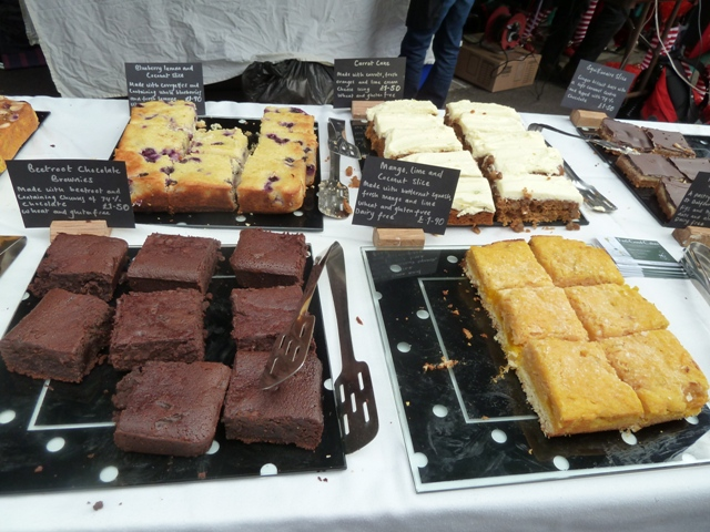 Feel Good brownies, cakes and slices